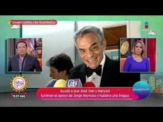 Charly López habla de su intervención para ayudar a hijos de José José | Sale el Sol