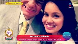¡Fernando Allente revela cuál fue la última voluntad de José José!   Sale el Sol