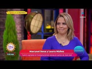 ¡Marysol Sosa ya reconoció el cuerpo de José José! | Sale el Sol