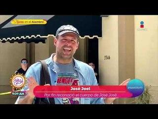 José Joel confirma que el cuerpo de José José está en la funeraria | Sale el Sol