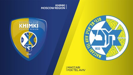EuroLeague 2019-20 Highlights Regular Season Round 1 video: Khimki 89-83 Maccabi