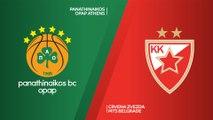 Panathinaikos OPAP Athens - Crvena Zvezda mts Belgrade Highlights | Turkish Airlines EuroLeague, Regular Season Round 1