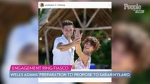 Wells Adams Reveals He Almost Didn't Get Sarah Hyland's Engagement Ring in Time to Propose!