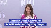 Melinda Gates Commits To Gender Equality
