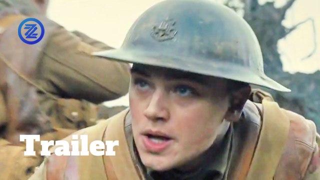 1917 Trailer #2 (2019) George MacKay, Andrew Scott War Movie HD