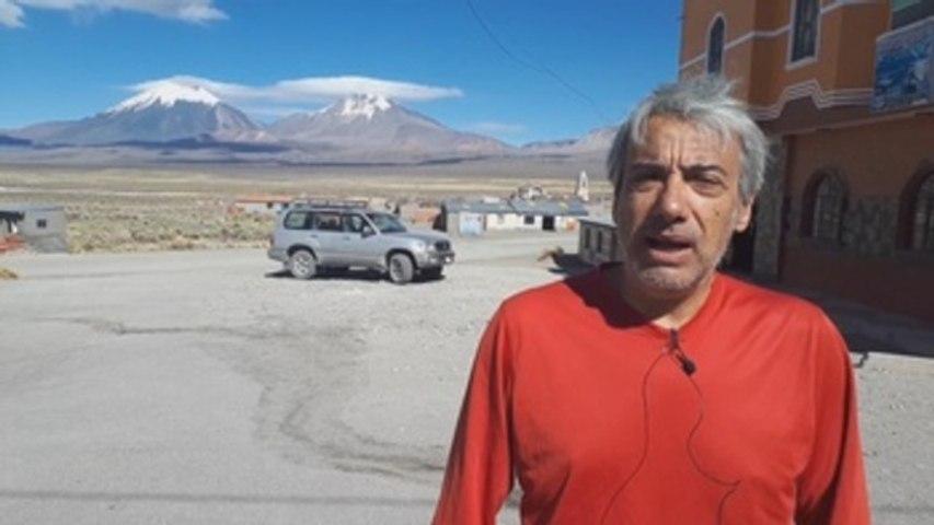 Informe a cámara: El Reto Pelayo Vida supera la cumbre del Acotango