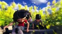 ABOMINABLE - Clip de la  Película - Surfeando sobre flores