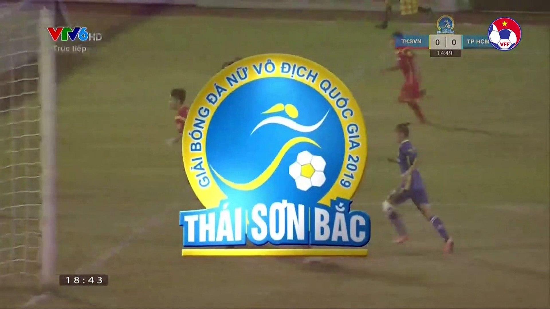 Highlights | Than KS Việt Nam - TP. HCM 1 | Tường thành không thể xuyên phá | VFF Channel