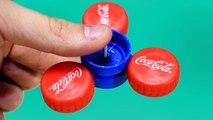3 Amazing Life Hacks with Plastic Bottle lids vs coca cola