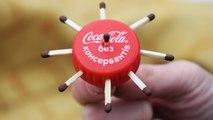 3 Simple Life Hacks with plastic bottle lids Coca cola