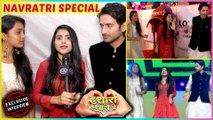 Mudit aka Yogi, Debattama aka Pari & Sumbul aka Khushi NAVRATRI Celebrations | Isharon Isharon Mein