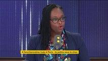 """Mobilisation des policiers : """"Les heures supplémentaires, le ministre de l'Intérieur, s'y est engagé, seront payées."""", assure Sibeth Ndiaye"""
