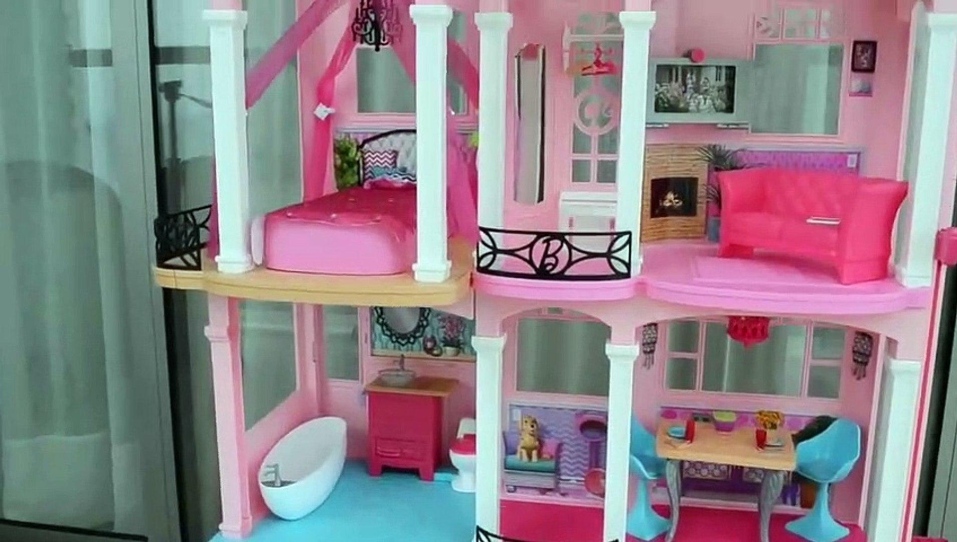 Casa Da Barbie Nova Lancamento 2016 Open Box!!! Em Portugues
