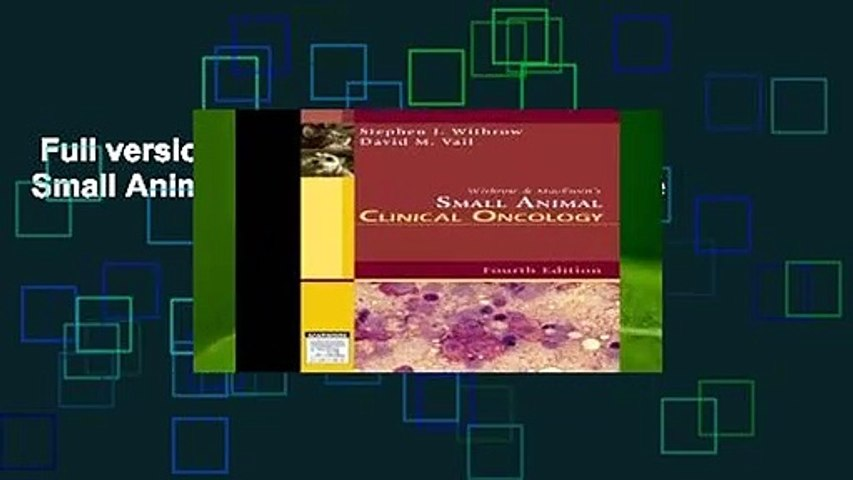 Full version  Withrow and MacEwen s Small Animal Clinical Oncology Complete