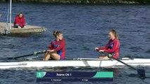 Championnat de france Sprint Senior Gerardmer 2019 - Finale A Deux de couple sans barreur sénior femme