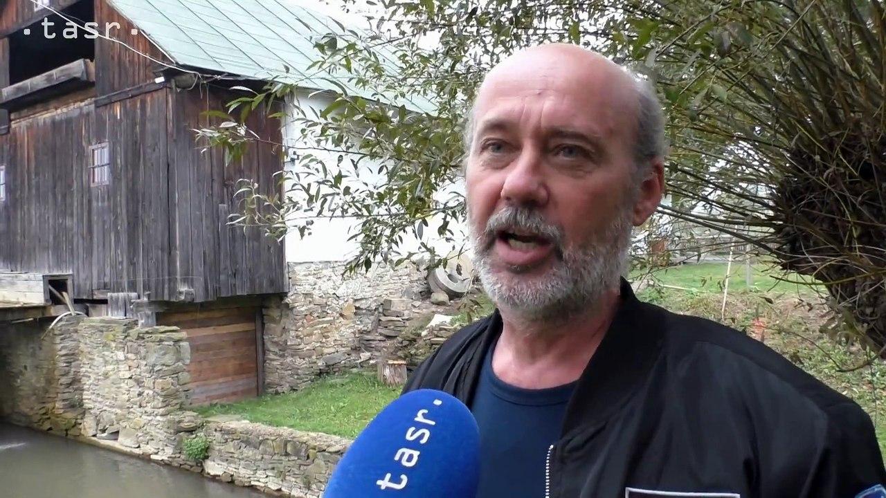 Vodný mlyn v Krivanoch slúžil až do znárodnenia, následne chátral