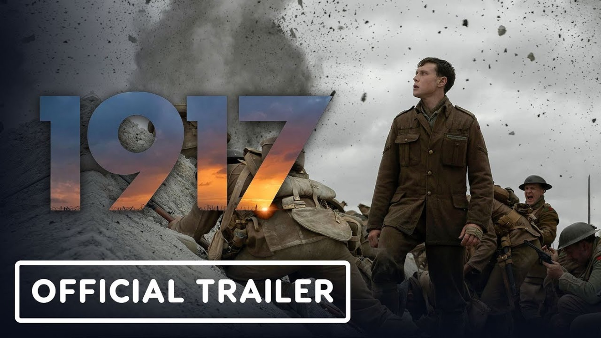 1917  - Official Trailer - Sam Mendes Movie 2020 vost