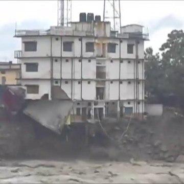 Kedarnath Water Flood Video Kedarnath Uttarakhan
