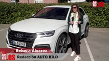 Vídeo: conducimos el Audi Q5 híbrido enchufable, ¡los cuatro aros se electrifican!