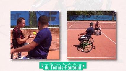 Les fiches techniques du tennis-fauteuil : le jeu tactique