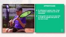 Les fiches techniques du tennis-fauteuil : le revers inversé