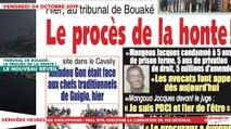 Le Titrologue du 04 Octobre 2019 : Condamnation de Mangoua Jacques, le procès de la honte !