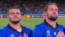 Italy sing national anthem with pride