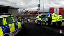Glasgow Airport evacuated and closed off due to police incident