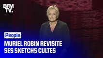 Dans son nouveau spectacle, Muriel Robin revisite ses sketchs cultes