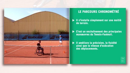 Les fiches techniques du tennis-fauteuil : la manœuvrabilité