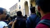 Gazi Üniversitesi Teknoloji Fakültesi B Blok binası eylemi