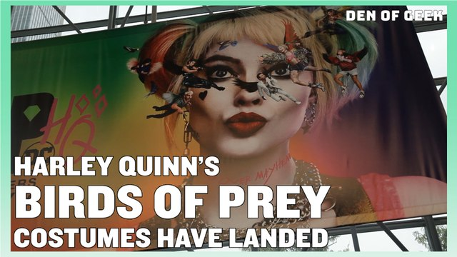 Harley Quinn's Bird of Prey Costume | NYCC 2019