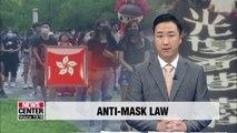 Hong Kong leader invokes emergency powers to ban masks during protests