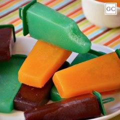 Picolé caseiro de frutas | Receitas Guia da Cozinha