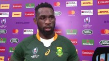 Siya Kolisi speaks after win over Italy