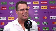 Erasmus gives honest interview after Italy win