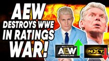 AEW DESTROYS WWE In Ratings War! Steve Austin In-Ring RETURN?! | WrestleTalk News Oct. 2019