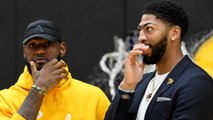 Lakers Experiment With LeBron James Playing Point Gaurd And Anthony Davis Playing Center!