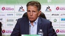 """Claude Puel : """"Tout un club main dans la main"""""""
