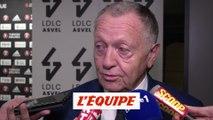 Aulas «Un derby, ça se gagne» - Foot - L1 - Lyon