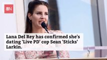 Lana Del Rey Dates A Real Police Officer