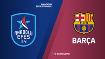 Anadolu Efes Istanbul - FC Barcelona Highlights | Turkish Airlines EuroLeague, Regular Season Round 1
