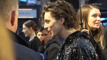 Timothee Chalamet Red Carpet Arrival at 'The King' UK Premiere