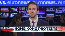 Hong Kong government invokes emergency powers in effort to 'end violence'
