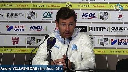 """Villas-Boas : """"L'arbitre a cherché le pénalty"""""""