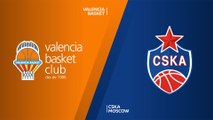Valencia Basket - CSKA Moscow Highlights | Turkish Airlines EuroLeague, Regular Season Round 1