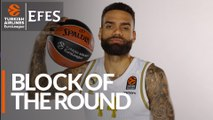 Efes Block of the Round: Jeffery Taylor, Real Madrid