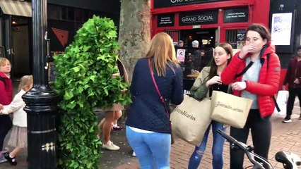 They Didn't Expect This At All: Insane Screams: Bushman Prank