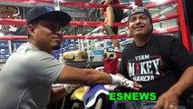 Robert Garcia Talks Porter vs Spence Fight