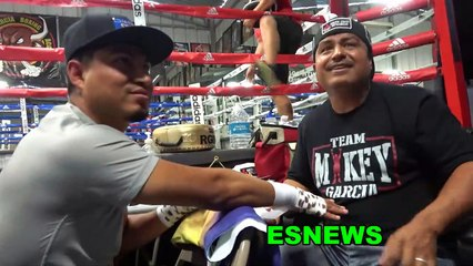 Robert Garcia Talks Porter vs Spence Fight